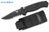 Benchmade 9051SBK AFO II AUTOMATIC - UTILITY Combo Edge/BK 1 Black Finish