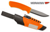 "MORAKNIV 12051 BUSHCRAFT SURVIVAL KNIFE. 4.3"" STAINLESS STEEL BLADE.  FIRESTEEL AND DIAMOND SHARPENING HONE ON SHEATH. MADE IN SWEDEN. CUTLERY SHOPPE"
