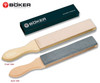 BOKER 090501 DOUBLE SIDED LEATHER/SLATE STROP. CUTLERY SHOPPE
