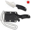 FB35BK, FB35SBK, ARK, ALWAYS READY KNIFE, NECK KNIFE, SPYDERCO, CUTLERY SHOPPE