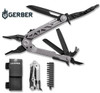 GERBER 30-001194 CENTER-DRIVE MULTI-TOOL W/BIT SET. BLACK NYLON SHEATH INCLUDED. CUTLERY SHOPPE