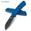 "Benchmade 319DLC-1801 Proper Slipjoint Folder - 2.86"" Black DLC Coated CPM-S30V Blade - Blue G-10 Handle - LIMITED EDITION - CUTLERY SHOPPE"