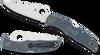 "Spyderco C10FPBLE Endura 4 - 3.8"" V-Toku2 Tool Steel/SUS410 Laminate Blade - Blue/Gray FRN Handle - SPRINT RUN. CUTLERY SHOPPE"