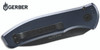 "Gerber 30-001319 Empower AUTOMATIC - 3.25"" Plain Edge CPM-S30V Black Finish Blade Blade - Type III Hard Anodized Urban Blue Aluminum Handle w/Armored Grip Plates - CUTLERY SHOPPE"