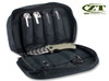 ZERO TOLERANCE ZT997  KNIFE STORAGE BAG. 18 PADDED POCKETS - HOLDS 18 KNIVES. SHOWN W/KNIVES - NOT INCLUDED. CUTLERY SHOPPE