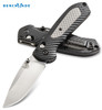 "BENCHMADE 560 FREEK AXIS FOLDER. 3.6"" SATIN FINISH PLAIN EDGE CPM-S30V BLADE. GRIVORY/VERSAFLEX HANDLE. CUTLERY SHOPPE"