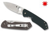 "Spyderco C232GTIP Brouwer - 2.77"" Satin Finish CPM-S30V Blade - Green G-10/Titanium Frame Lock"