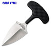 "COLD STEEL 43XL URBAN EDGE. 2.5"" AUS-8A DOUBLE EDGE BLADE. KRAY-EX HANDLE. SECURE-EX NECK SHEATH. CUTLERY SHOPPE"