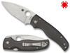 "SPYDERCO C229CFP SHAMAN FOLDER. 3.58"" PLAIN EDGE CPM-S90V BLADE. CARBON FIBER HANDLE. SPRINT RUN. CUTLERY SHOPPE"