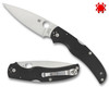 "SPYDERCO C244GP NATIVE CHIEF FOLDER. 4.08"" CPM-S30V BLADE. BLACK G-10 HANDLE. CUTLERY SHOPPE"