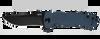 "Zero Tolerance 0920BLUBLK Les George KVT Flipper - 3.9"" DLC Finish CPM-20CV Blade - Blue 3D Machined Titanium Handle - SPRINT RUN - SOLD OUT"