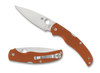 "SPYDERCO C244GPBORE NATIVE CHIEF FOLDER. 4.08"" CPM-REX45 BLADE. BURNT ORANGE G-10 HANDLE. SPRINT RUN. CUTLERY SHOPPE"
