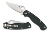 "SPYDERCO C81GPFGR2 PARA MILITARY 2. 3.47"" FFG CPM-S45VN BLADE. FOREST GREEN G-10 HANDLE. COMPRESSION LOCK. MADE IN USA. SPRINT RUN. CUTLERY SHOPPE"