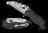 "Spyderco C248CFP Canis Folder - 3.43"" Plain Edge CPM-S30V Blade - Carbon Fiber/G-10 Laminate Handle"