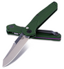 "BENCHMADE 9400 OSBORNE AUTOMATIC. 3.4"" PLAIN EDGE SATIN FINISH CPM-S30V BLADE. CUTLERY SHOPPE"