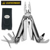 "Leatherman 830683 Charge TTI - 4"" Closed - 19 Tools - Titanium Handle Scales - Black Nylon Standard Sheath"