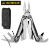 """Leatherman 830683A Charge TTI - 4"""" Closed - 19 Tools - Titanium Handle Scales - Black Nylon Molle Sheath - DISCONTINUED - ONLY 1 LEFT"""