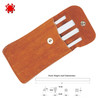 SPYDERCO 400F FOUR HONE CERAMIC FILE SET. SUEDE LEATHER POUCH INCLUDED. CUTLERY SHOPPE