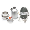 Kelly Kettle 50114 - Stainless Steel - Medium Scout 1.1L Kettle - Basic Kit - UPDATED VERSION - NO RIVETS