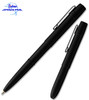 FISHER SPACE PEN 400BWCCL BLACK MATTE X-MARK BULLET PEN W/POCKET CLIP. CUTLERY SHOPPE
