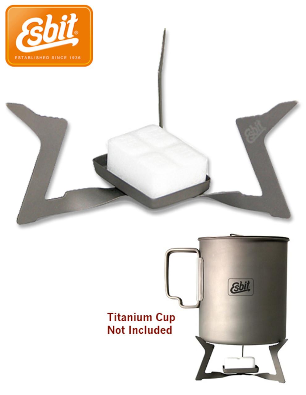Esbit Titanium Stove