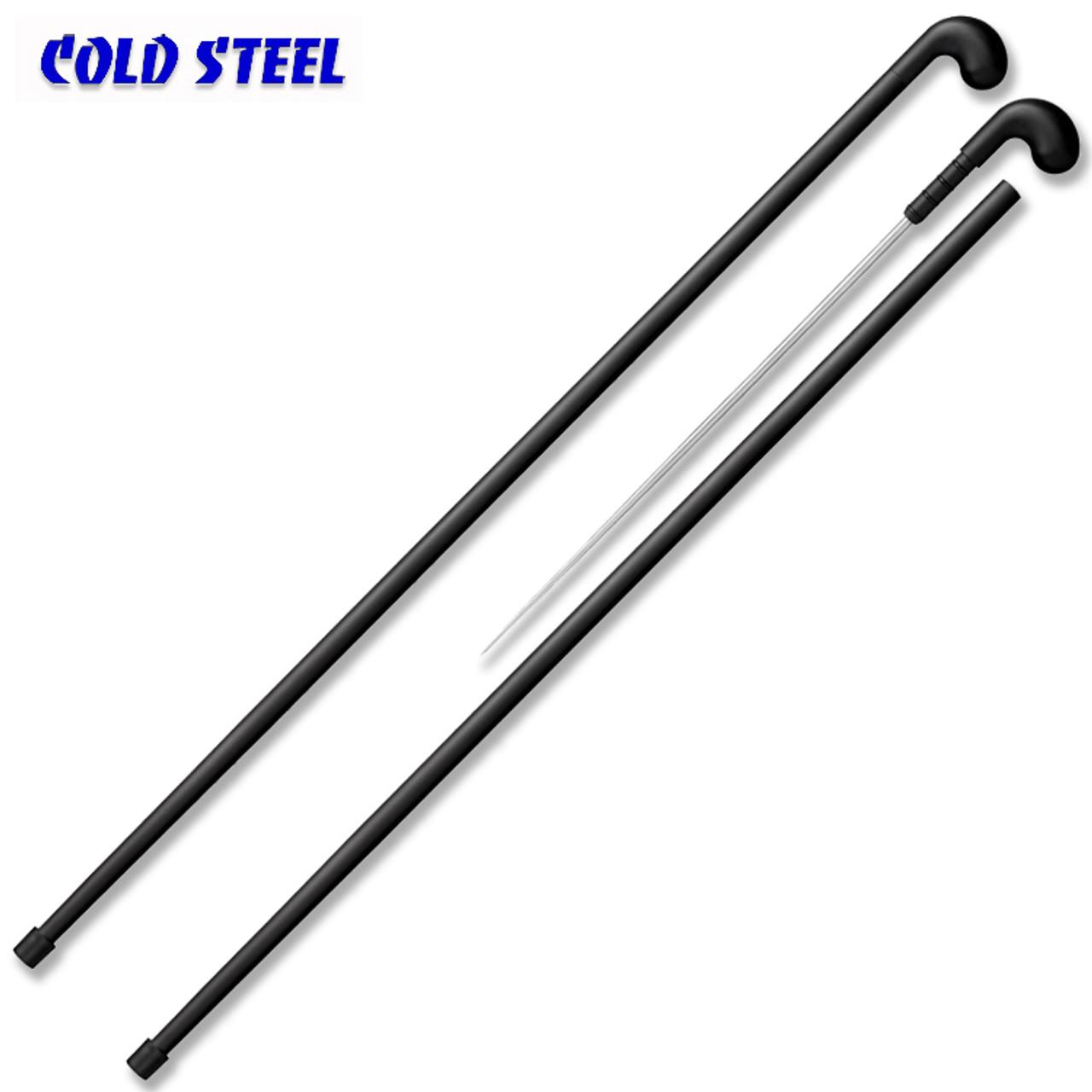 Cold Steel 88SCFE Quick Draw Sword Cane w/Grivory Grip & Aluminum Shaft -  18 0