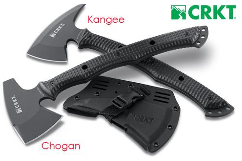 CRKT 2720 Chogan T-Hawk Tomahawk w/Hammer.  CUTLERY SHOPPE.