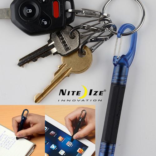 Nite Ize Inka Mobile Pen + Stylus - Blue Ink Pen - Touchscreen Stylus-Blue