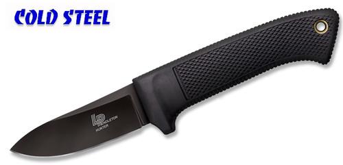"Cold Steel 36LPCSS - 3V Pendleton Hunter - 3.5"" CPM 3-V Blade w/DLC Coating - Kray-Ex™ Handle - Secure-Ex® Sheath - CUTLERY SHOPPE"