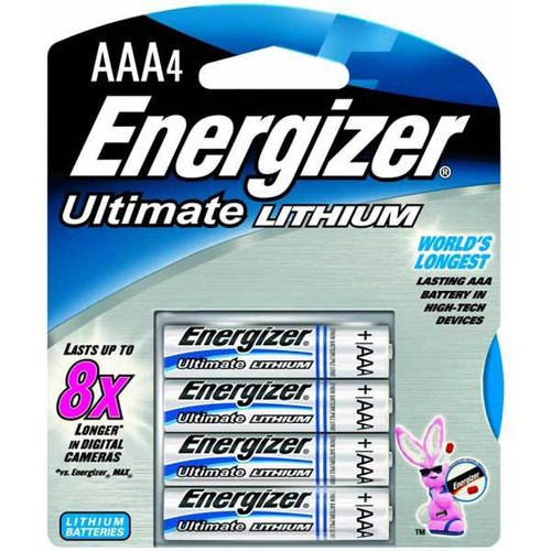 ENERGIZER ULTIMATE LITHIUM BATTERIES, SIZE AAA, CUTLERY SHOPPE