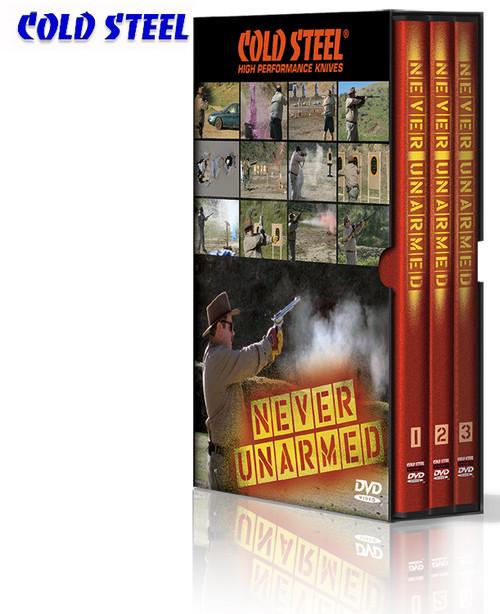 Cold Steel VDNU - Never Unarmed DVD Set - 6 Disks
