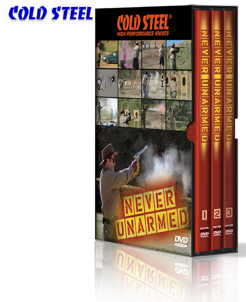 Cold Steel VDNU - Never Unarmed DVD Set - 6 Disks