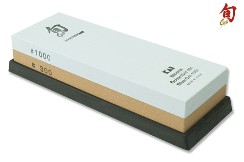 Shun 300 Grit 1000 Grit Combination Whetstone Sharpener  DM0708  Cutlery Shoppe