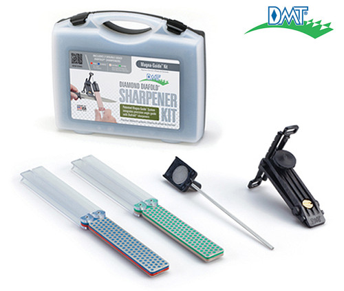 DMT MAGKIT-4 DIAFOLD MAGNA-GUIDE KIT W/CARRY CASE. INCLUDES GUIDE AND FOUR HONES - EXTRA-EXTRA-FINE, EXTRA-FINE, FINE & COARSE. CUTLERY SHOPPE