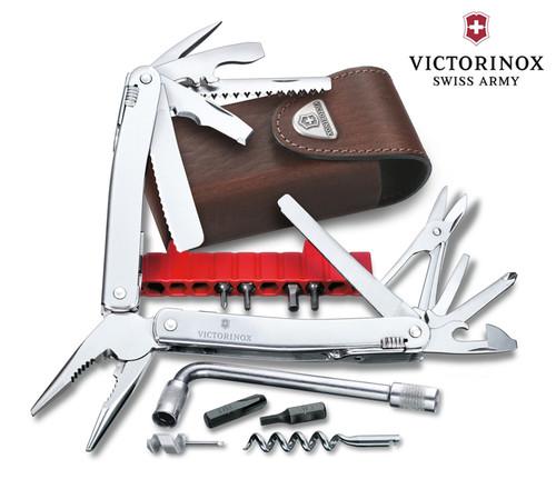 VICTORINOX SWISS ARMY 53802 SWISSTOOL SPIRIT MULTI TOOL. CUTLERY SHOPPE