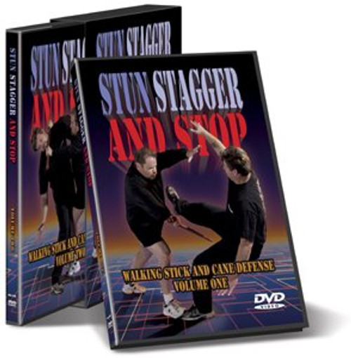 Cold Steel VDSC - Stun, Stagger & Stop - DVD Set