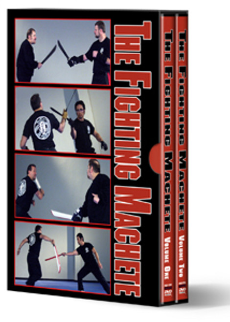 COLD STEEL VDFM THE FIGHTING MACHETE 3 VOLUME DVD SET. CUTLERY SHOPPE