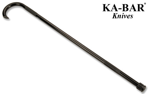 "KA-BAR TDI SELF DEFENSE CANE. 39"" BLACK POWDER COATED FINISH. ALUMINUM CONSTRUCTION. CUTLERY SHOPPE"