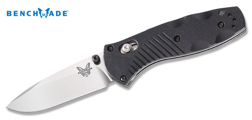 "Benchmade 585 Mini Barrage - AXIS Assisted Opener - Valox Scales - 2.91"" Blade - Plain Edge - CUTLERY SHOPPE"
