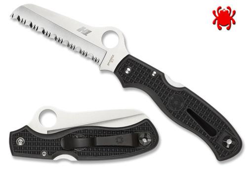 C89, C89BK, C89SBK, ATLANTIC SALT, H-1 BLADE STEEL, RESCUE KNIFE, SPYDERCO, CUTLERY SHOPPE