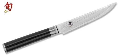 "Shun Classic 4.75"" Damascus Steak Knife  DM0711  Cutlery Shoppe"