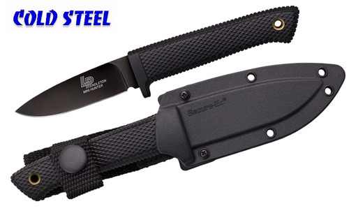 "Cold Steel 36LPCM - 3V Pendleton Mini Hunter - 3.0"" CPM 3-V Blade w/DLC Coating - Kray-Ex™ Handle - Secure-Ex® Sheath - CUTLERY SHOPPE"