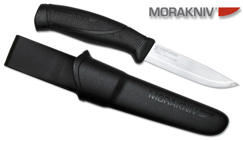 "MORAKNIV 12141 M-12141 COMPANION. 4.1"" SANDVIK 12C27 BLADE. MADE IN SWEDEN. CUTLERY SHOPPE"