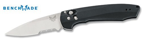 "Benchmade 490S Amicus AXIS Assisted Flipper - 3.20"" CPM-S90V Satin Finsih Combo Edge Blade - COMING SOON - CUTLERY SHOPPE"