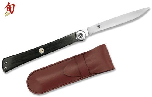 Folding Amp Pocket Knives Shun Kitchen Knives Cutlery Shoppe