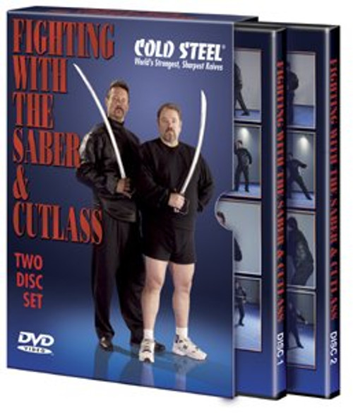 COLD STEEL VDFSC FIGHTING WITH THE SABER & CUTLASS 2 VOLUME DVD SET. CUTLERY SHOPPE