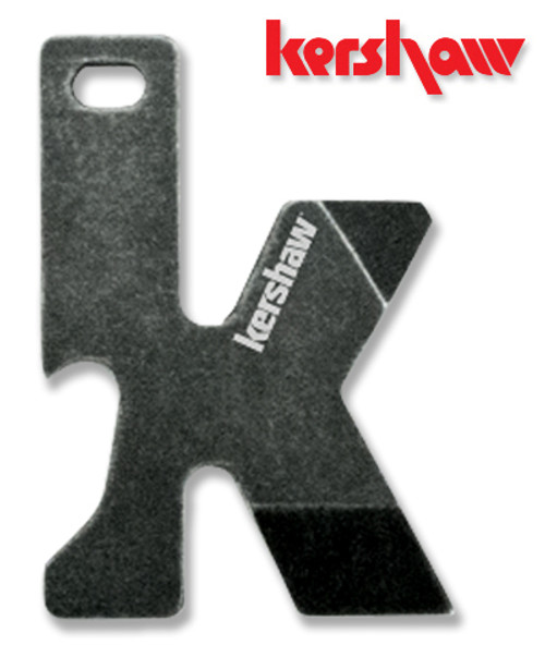 "KERSHAW K-TOOL - A PERFECT MULTITOOL FOR YOUR KEYCHAIN. 2.0"" OVERALL. BLACKWASH FINISH. CUTLERY SHOPPE"