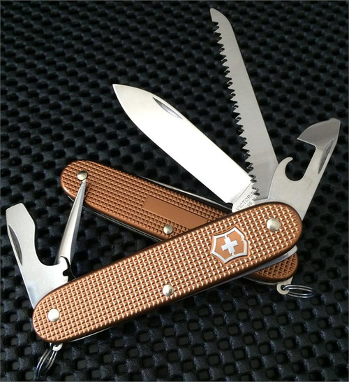 Victorinox 0 8201 281R Pioneer - Orange ALOX 93mm - CUTLERY SHOPPE