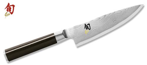 "Shun Classic 6"" Damascus Chef's Chef Knife  DM0723  Cutlery Shoppe"