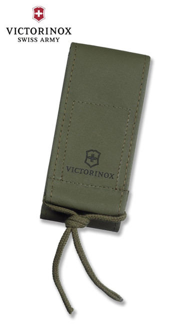 Victorinox Swiss Army #4.0822.4US2 Nylon Belt Pouch – Fits 130mm Lockback Knives – Features Wide Belt Loop & Braided Lanyard